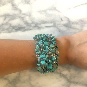 Banana republic turquoise bracelet